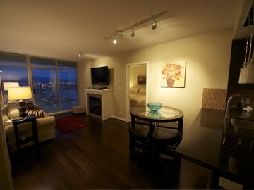 Vancouver apartment rental - Lounge