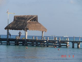 Cozumel condo photo - our pier for dive pick ups