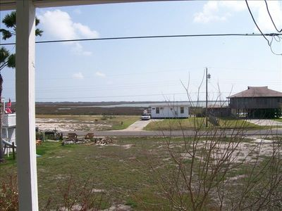 Upstairs view of Copano Bay