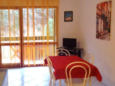 Maubuisson: Nice flat in the (rc) in Residence calms with 400m of the beach