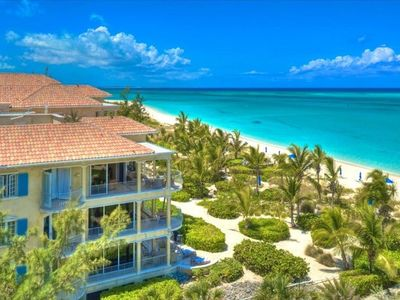 View of Villa Renaissance Overlooking Grace Bay Beach