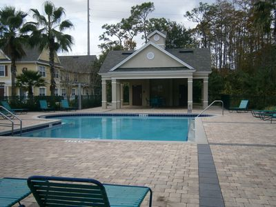 Venetian Bay townhome rental - One of the secondary pool areas