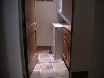 Ketchum condo rental - Laundry Room in Condo, plenty of soaps, and games in drawer