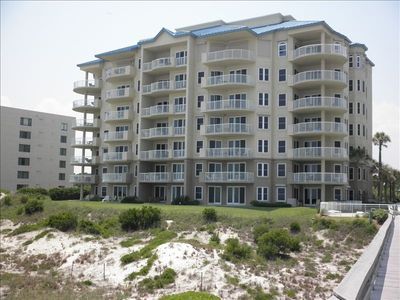 Amelia Island condo rental - Ocean Place balconies overlooking the ocean