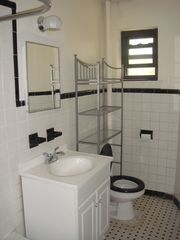 Brooklyn townhome photo - Original beautifully restored ensuite full bathroom