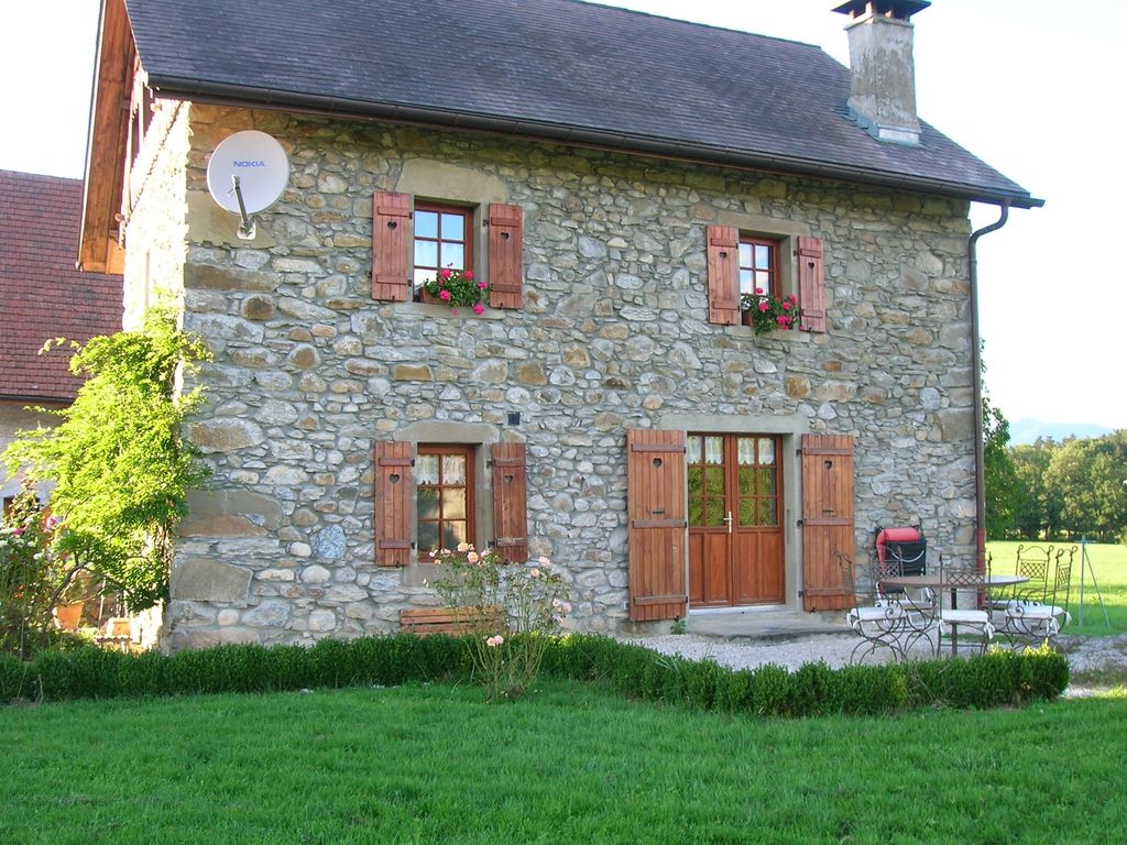 Quiet countryside house located between geneva annecy and chamonix 4 br vacation cottage for - Vacation houses in the countryside ...