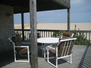 Harvey Cedars house photo - relax on the deck