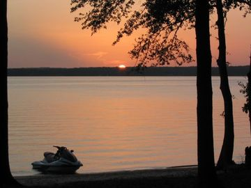 Lake Eufaula / Walter F. George house rental - The end to a great day on the lake! What adventures will tomorrow bring?
