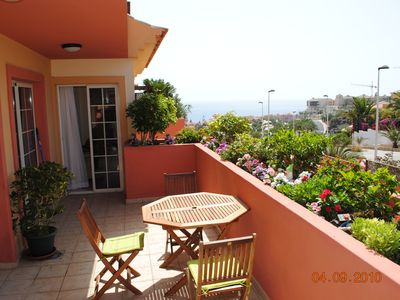 Costa Adeje apartment rental - Terrace