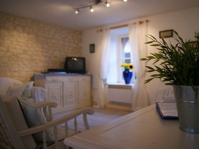 La Chaume : Living room with UK channels + Wifi