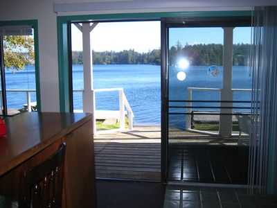 Your Lake Access from The Downstairs