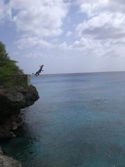 Curacao townhome photo - Cliff jumping from Playa Knepe and PlayaForti are just 1 popular passtimes