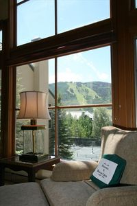 Beautiful View of Beaver Creek Mountain from Main Living Room
