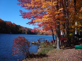 Becket house photo - Fall view on the lake