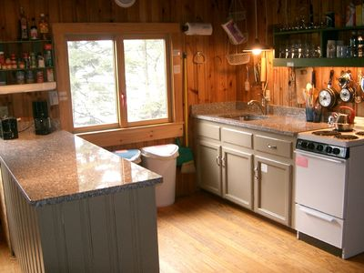 Deer Isle cottage rental - Deer Isle granite