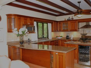 Playa Carrillo villa photo - Gourmet fully-equipped kitchen plus wine-cooler