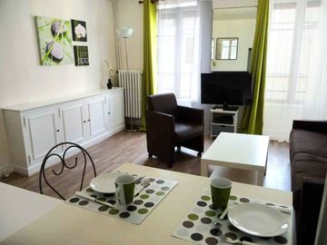 6th Arrondissement St Germain des Pres studio rental - Appartment - the living-room