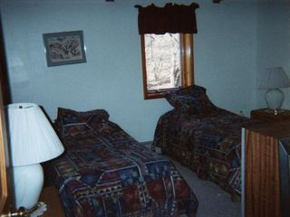 Mount Snow house photo - Bedroom with 2 Twins and Bathroom
