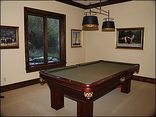 Beaver Creek house photo - Billiards Table with Wet Bar