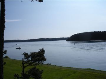 Kodiak house rental - VIEW from private deck