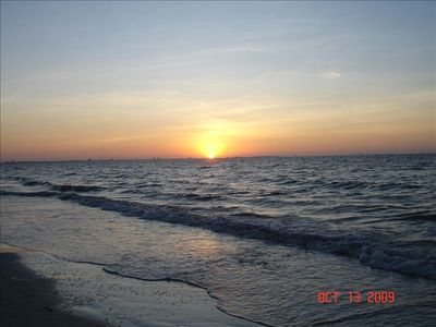 Sunrise on Sanibel
