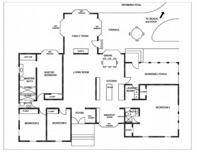 Sandy Pines offers a spacious floor plan.