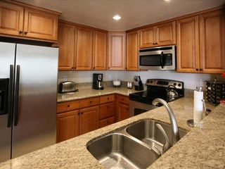 San Diego condo photo - Brand new kitchen with hardwood cabinet
