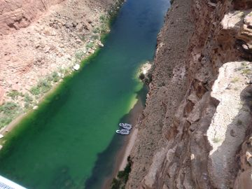Colorado River south of Grand Canyon