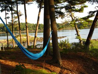 Brunswick house photo - Bring a hammock and enjoy this peaceful spot anytime.