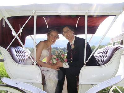 Carriage ride - Great for weddings & proposals