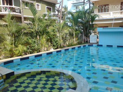 19)Ground Floor Apartment Calangute WiFi