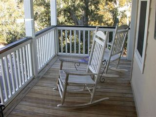 Fripp Island house photo - Upstairs front deck off Full bedroom