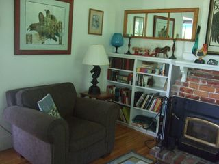 Baddeck house photo - Relax in the Cozy Den with a Good Book