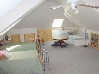 Chatham house photo - Airy Attic sleeps 4 comfortably with play area too