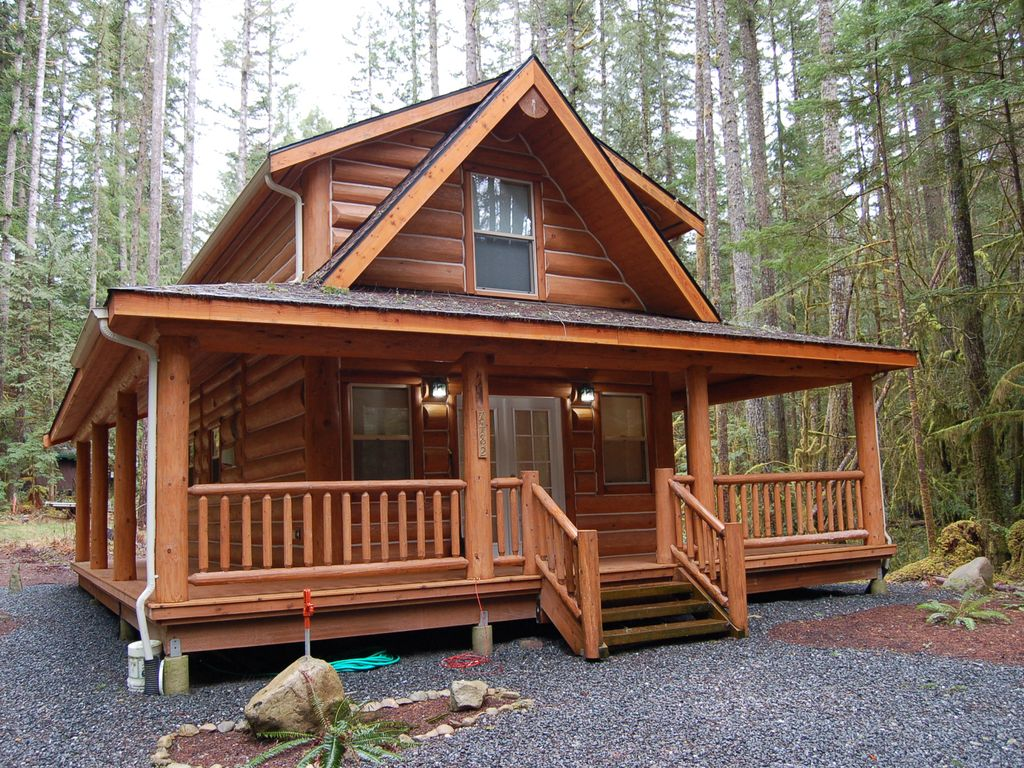 Log Cabin Near Mt Baker Bbq And Wrap Around Vrbo