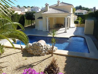 Holiday house for 6 persons, with swimming pool, in Calpe