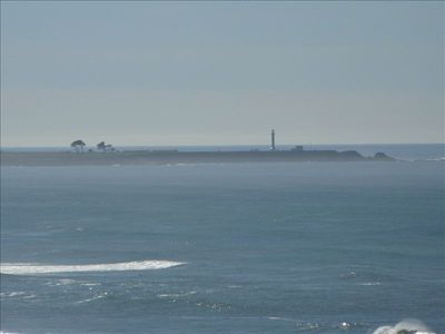 The Point Arena Lighthouse where Mel Gibson's Forever Young was filmed.