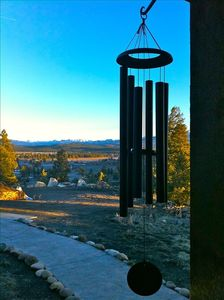 Pagosa Springs house rental - Peaceful wind chimes, view facing NE toward Pagosa Peak.