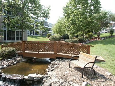 Branson condo rental - Stroll across the babbling brook