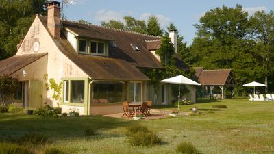 GÎTE IN SOLOGNE 4 ROOMS FOR 8/10 people