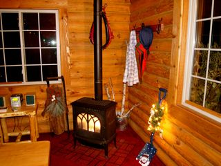 Wisconsin Dells cabin photo - Happy Holidays