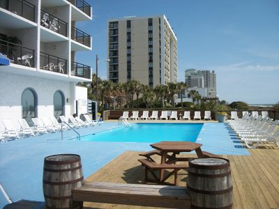 Acess to Beach Front Pool & other Amenities Of Blue Water Resort