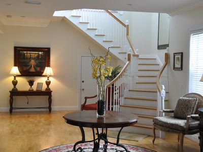 Entrance Hall with Grand Staircase to Master Suite