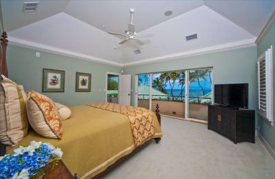 Upper Ocean View Master Bedroom #1