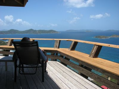 Coral Bay house rental - Views towards BVI's