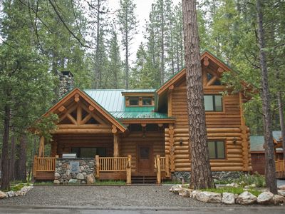 4br cabin vacation rental in yosemite national park for Yosemite national park cabin rentals
