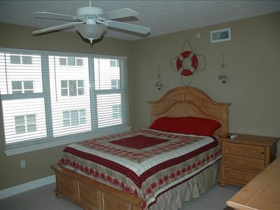 2nd bedroom. Room with two views  Ocean or Intercoastal.