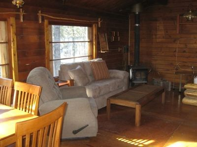 Interior Creekside Cabin