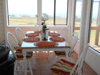 Bodega Bay house photo - Dining with a view