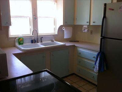 Kitchen has microwave,dishwasher and coffee maker and all utensils.